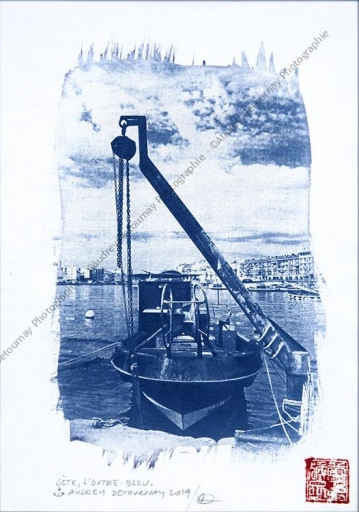 Cyanotype de Sète